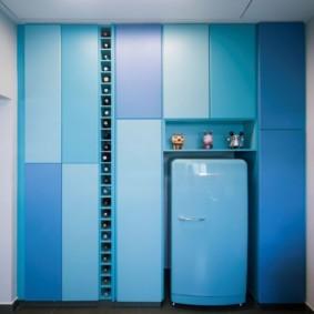 Пластиковые панели в современной кухне