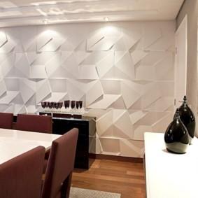 Геометрические узоры на декоративных панелях