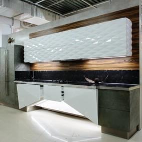 Подвесные шкафы кухонного гарнитура