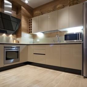 Освещение рабочей зоны кухни