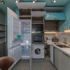 Шкаф для встроенной кухонной техники