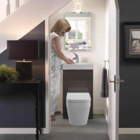 Дизайн удобного санузла в частном доме