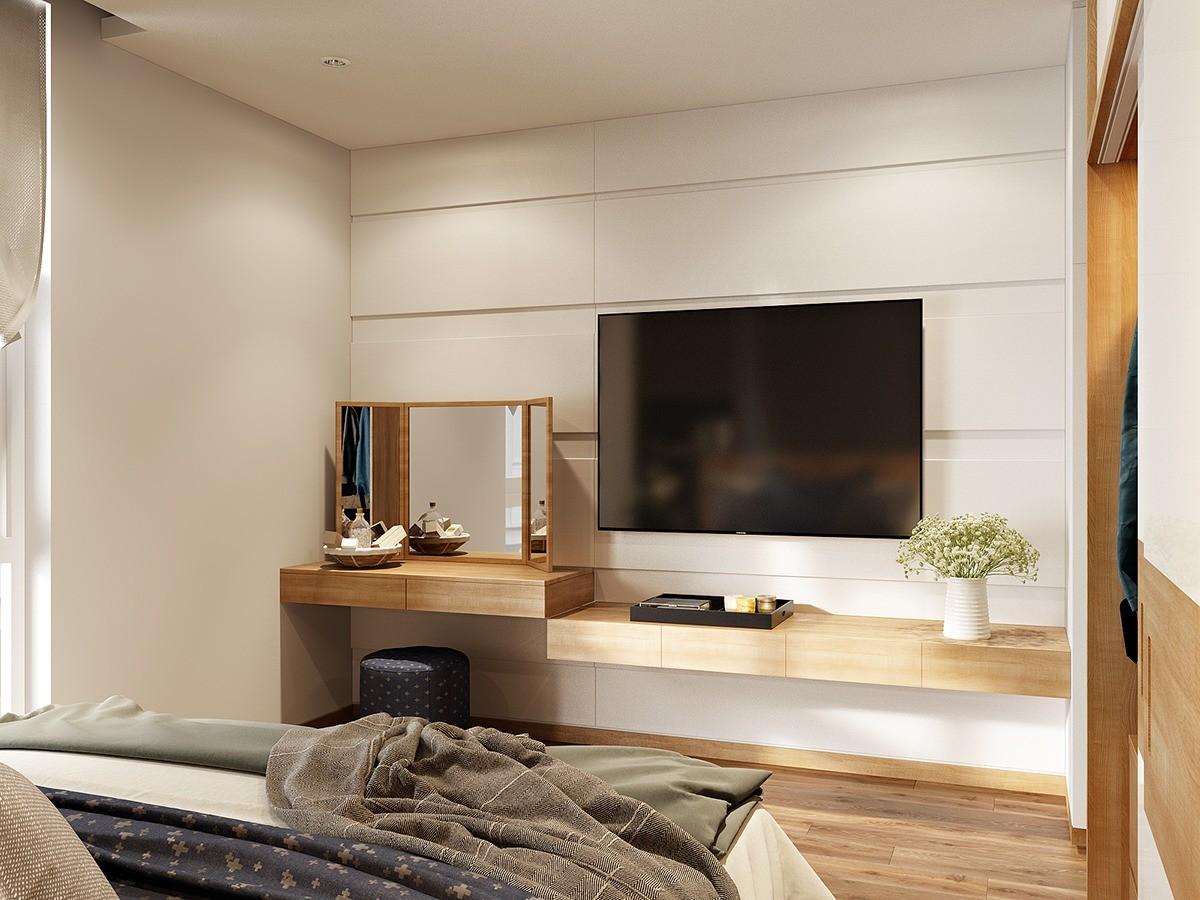 оформление стены с телевизором в спальне фото жилетку можно