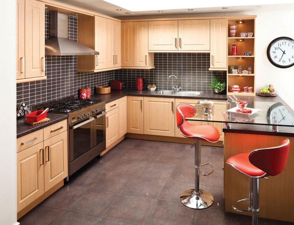 гарнитур для небольшой кухни