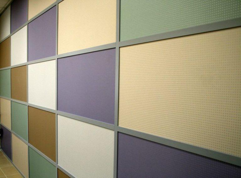 Облицовка стены гипсовиниловыми панелями
