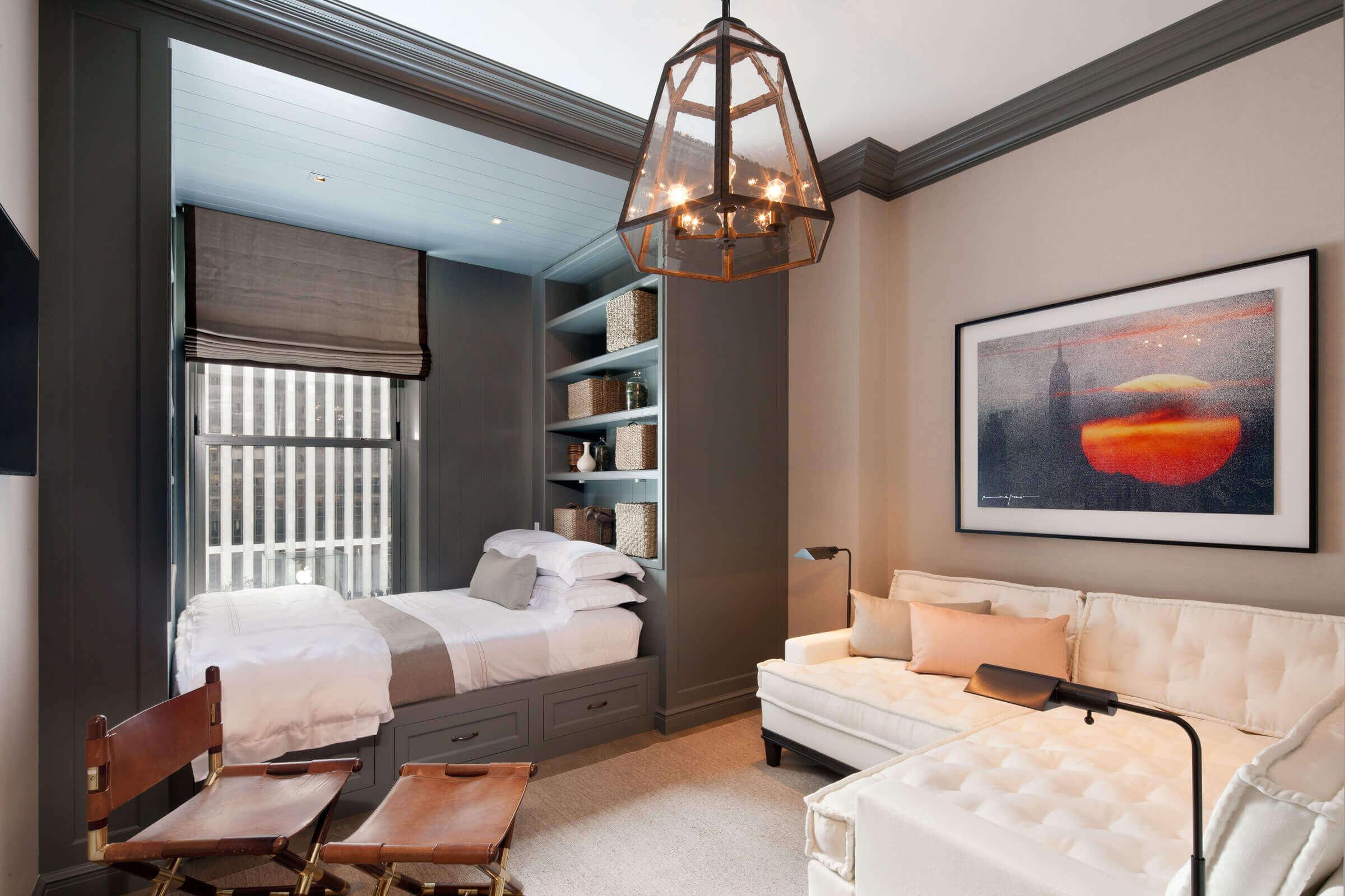 спальня гостиная 17 кв м фото видов