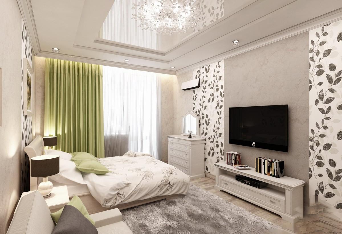 спальня гостиная 17 кв м варианты