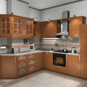 холодильник на кухне идеи оформление