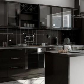 холодильник на кухне идеи оформления