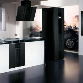 холодильник на кухне идеи варианты