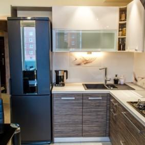 холодильник на кухне идеи вариантов
