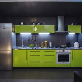 холодильник на кухне виды идеи
