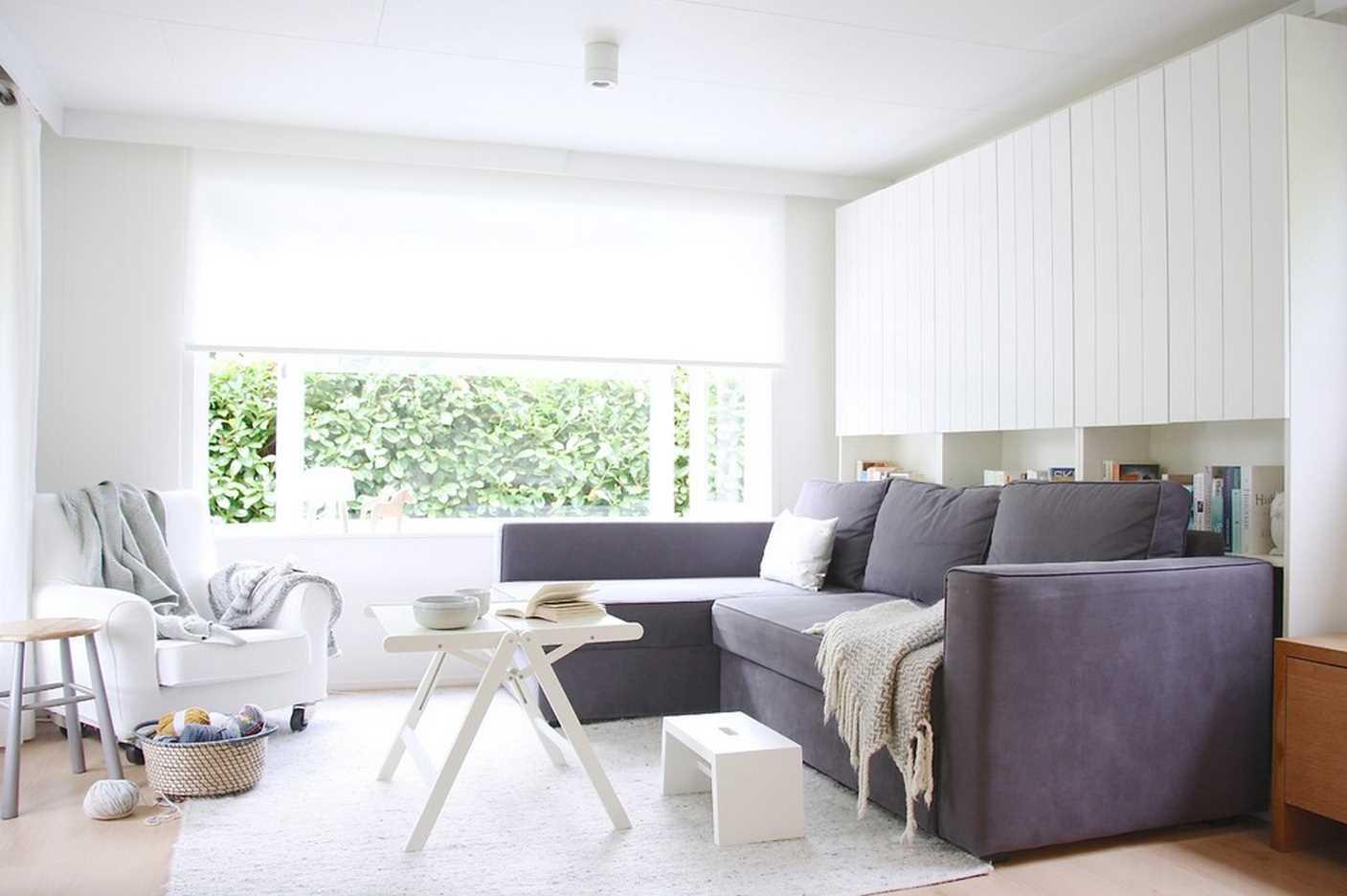 спальня-гостиная 18 кв.м. с диваном