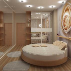 интерьер спальной комнаты по фен-шуй декор