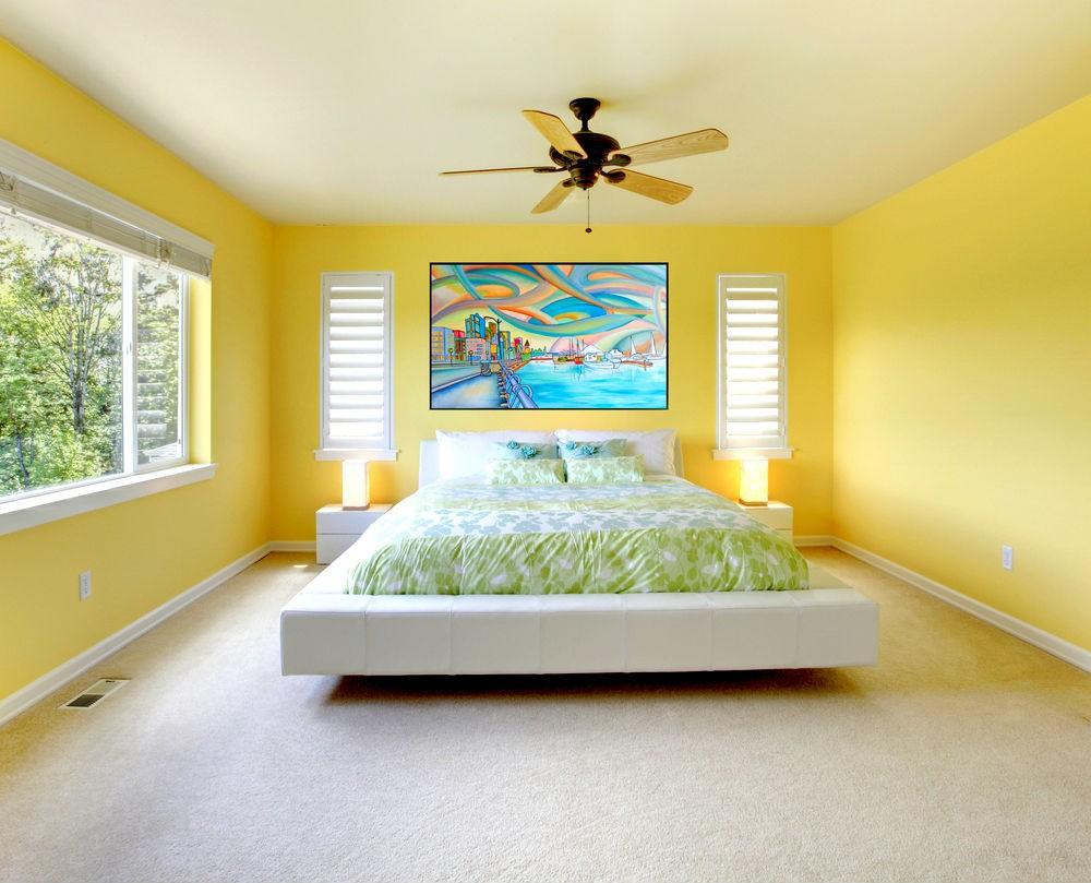 интерьер спальной комнаты по фен-шуй декор идеи