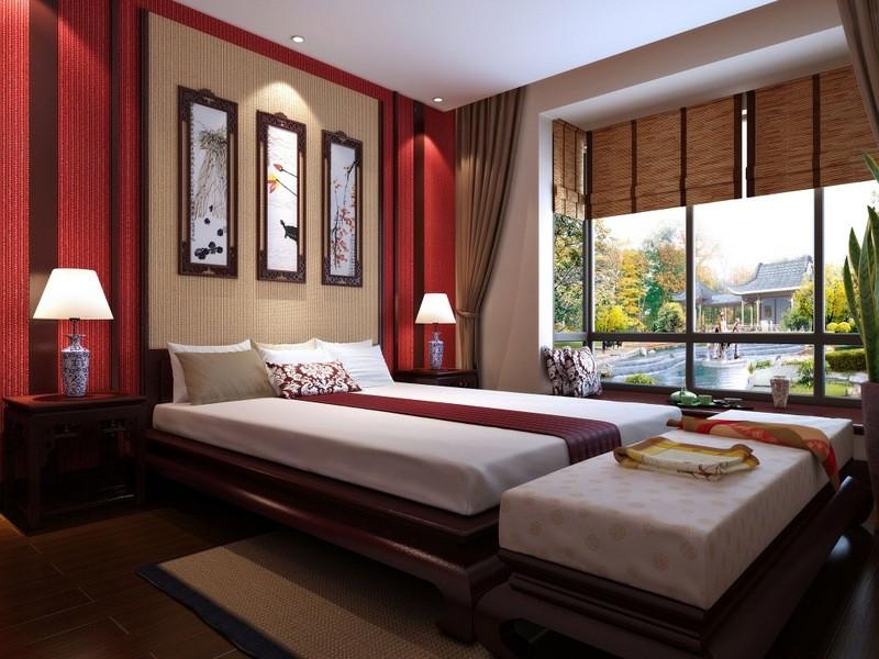 интерьер спальной комнаты по фен-шуй дизайн идеи