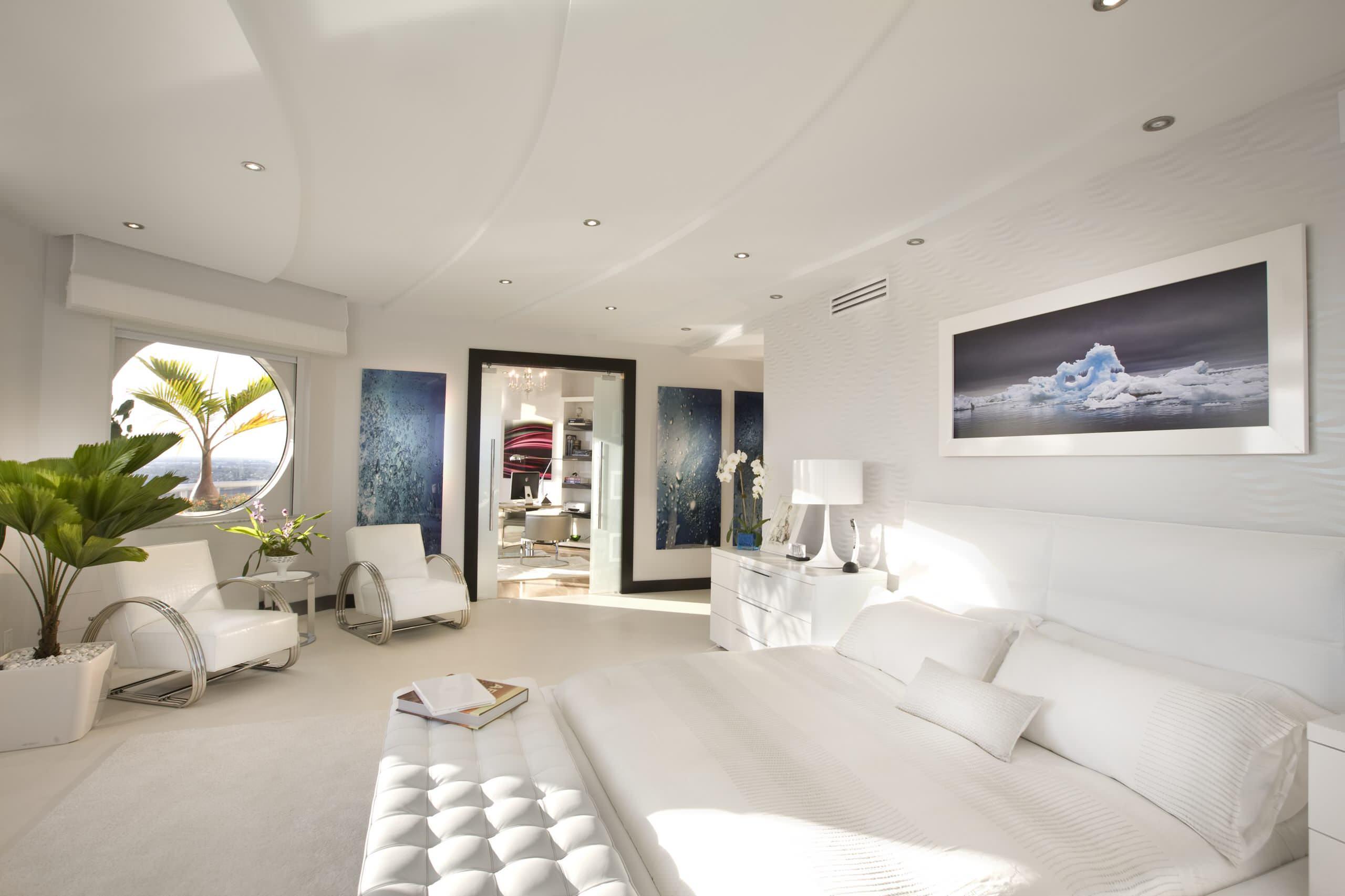 интерьер спальной комнаты по фен-шуй дизайн