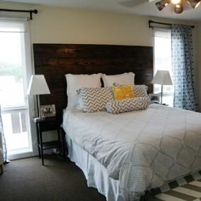 интерьер спальной комнаты по фен-шуй фото декор