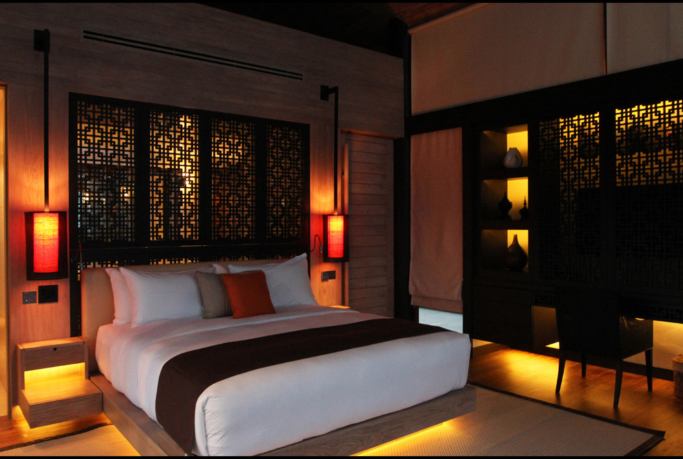 интерьер спальной комнаты по фен-шуй фото идеи