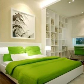 интерьер спальной комнаты по фен-шуй фото оформление