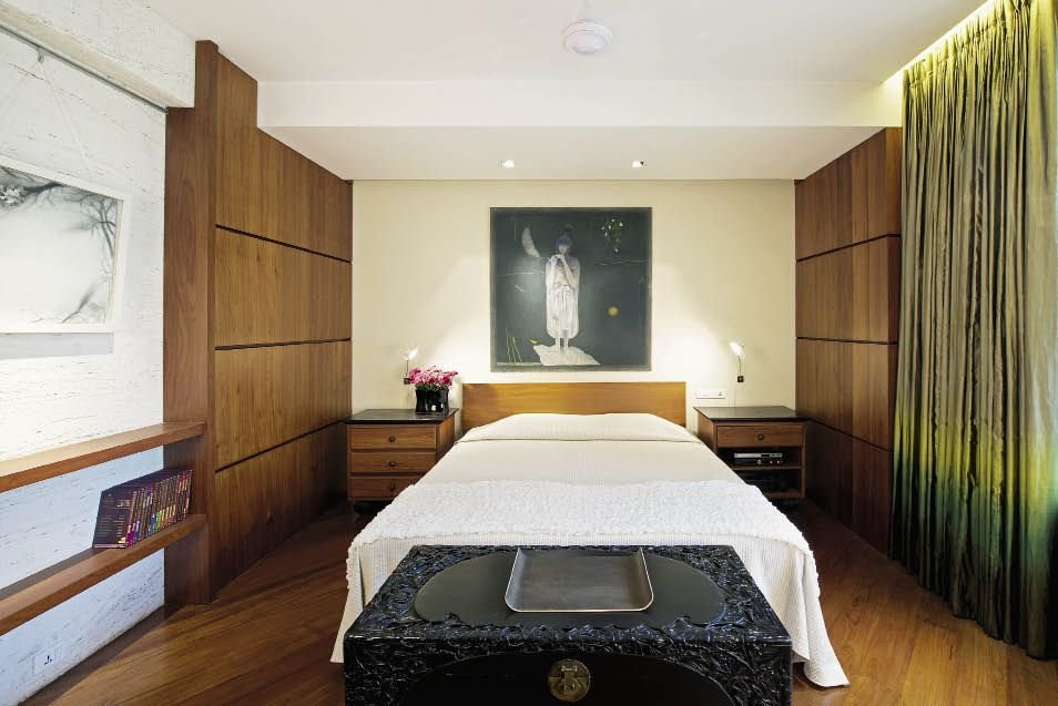 интерьер спальной комнаты по фен-шуй фото виды