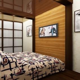 интерьер спальной комнаты по фен-шуй идеи
