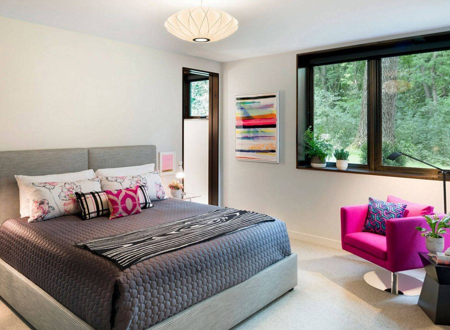 Дизайн дачной комнаты фото изображение