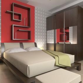 интерьер спальной комнаты по фен-шуй идеи дизайн