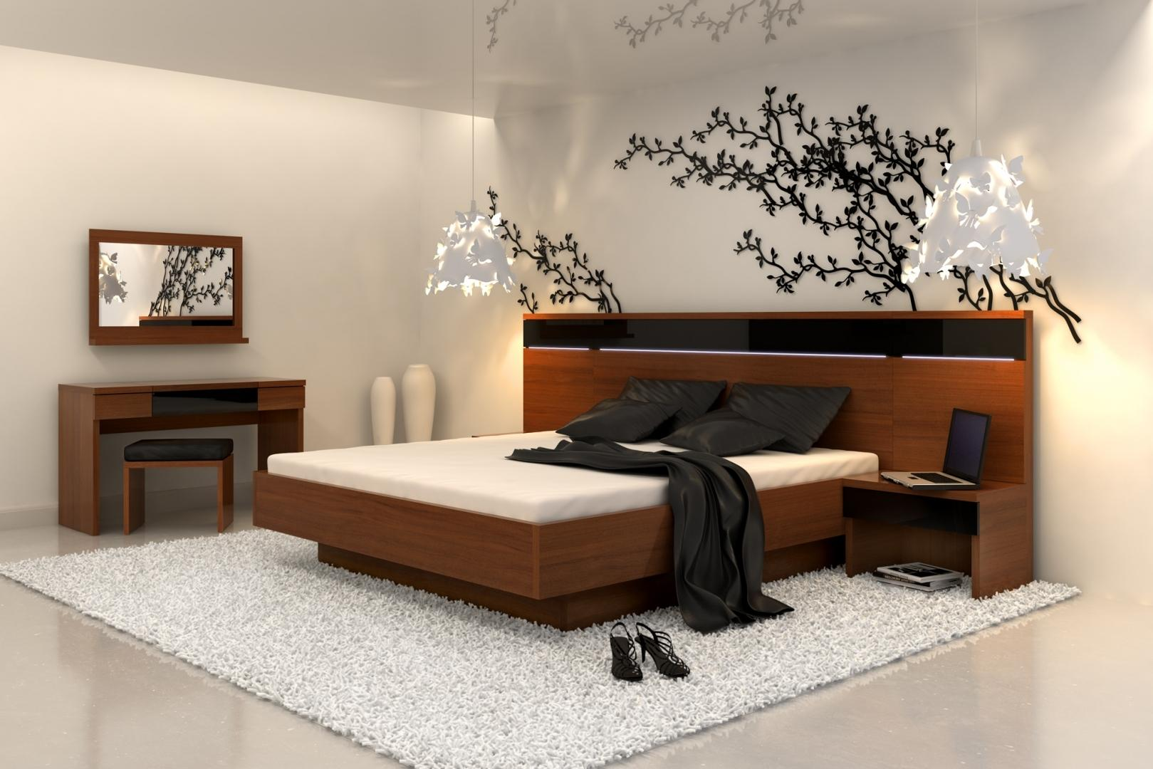 интерьер спальной комнаты по фен-шуй идеи дизайна