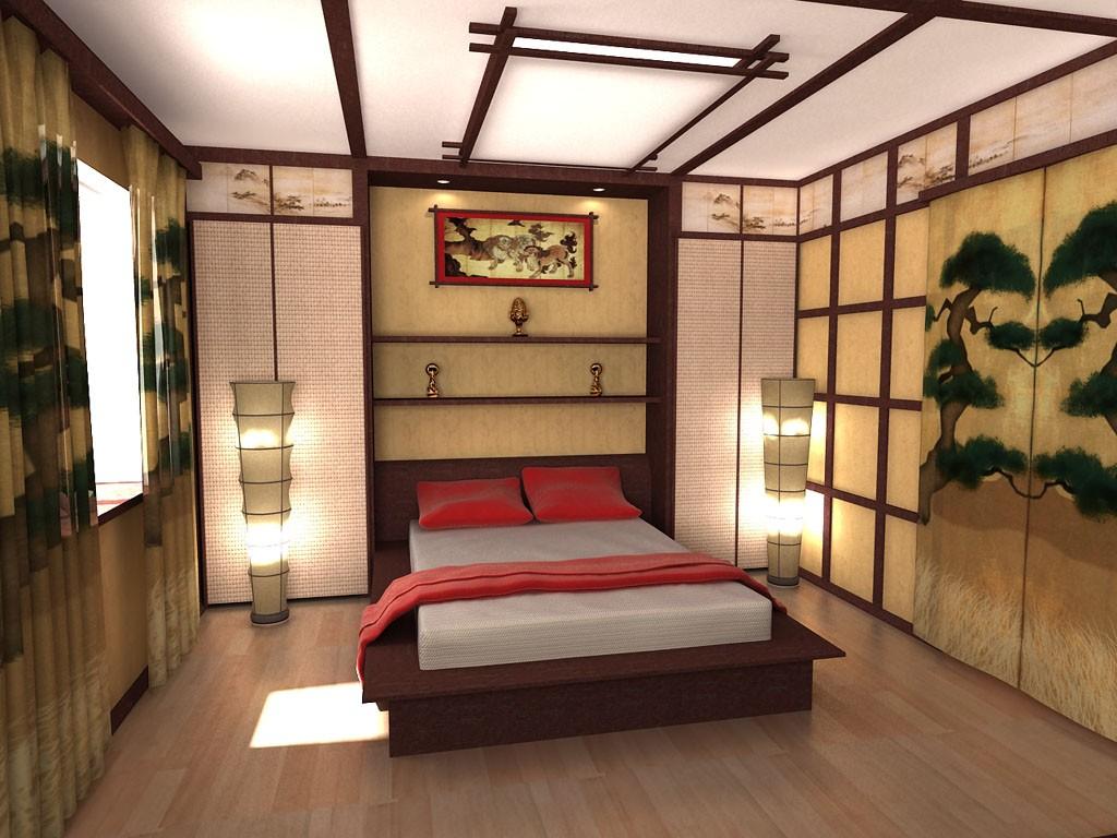 интерьер спальной комнаты по фен-шуй идеи фото
