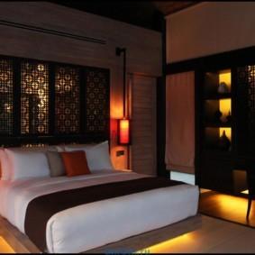 интерьер спальной комнаты по фен-шуй виды идеи