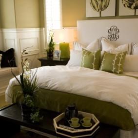 интерьер спальной комнаты по фен-шуй