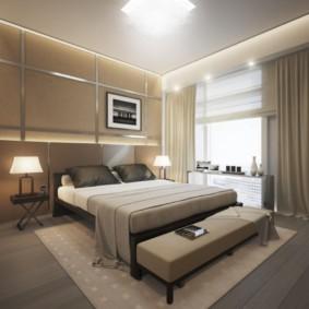 интерьер спальной комнаты по фен-шуй фото дизайна