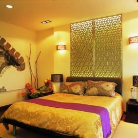 интерьер спальной комнаты по фен-шуй идеи декора