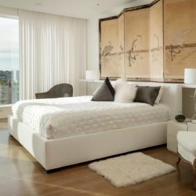 интерьер спальной комнаты по фен-шуй идеи оформления
