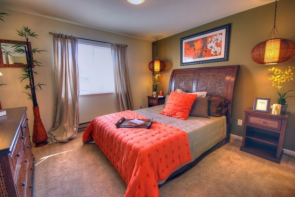 интерьер спальной комнаты по фен-шуй варианты фото