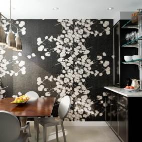 цвет стен на кухне декор идеи