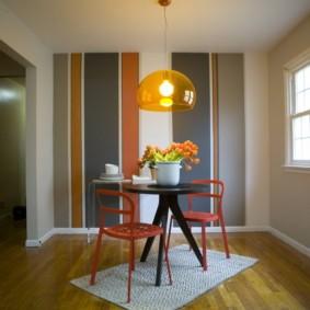 цвет стен на кухне фото интерьера