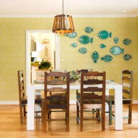 цвет стен на кухне идеи фото