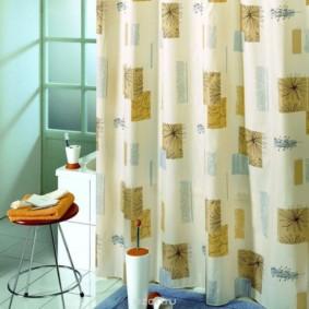 как выбрать шторы для ванной идеи фото