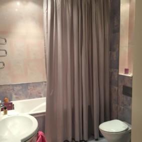 как выбрать шторы для ванной дизайн фото