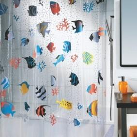 как выбрать шторы для ванной фото дизайн