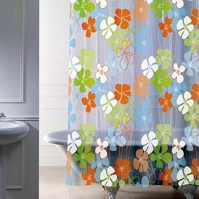 как выбрать шторы для ванной дизайн идеи