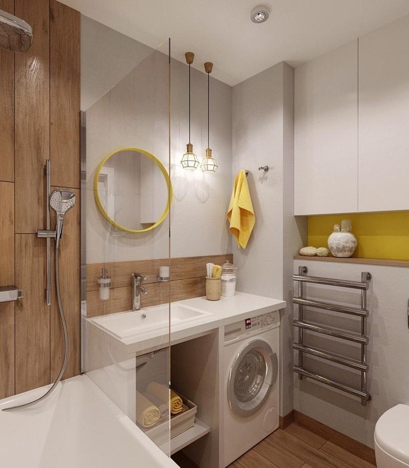 Интерьеры маленьких ванных комнат картинки