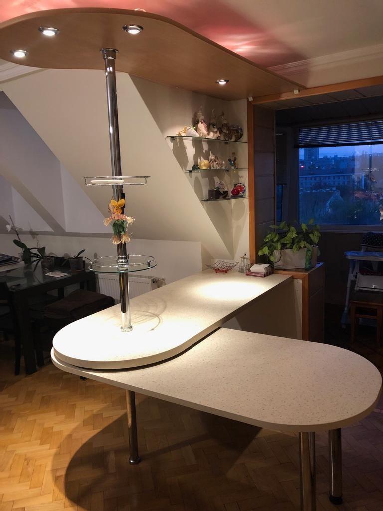 кухня с арной стойкой идеи
