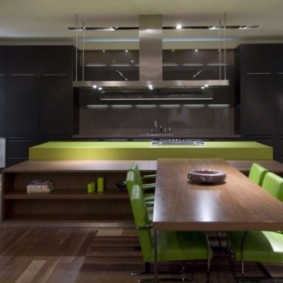 ламинат на кухне фото обзоры