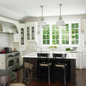 ламинат на кухне фото оформление