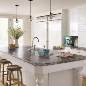 ламинат на кухне фото оформления