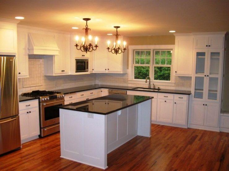 ламинат на кухне фото варианты