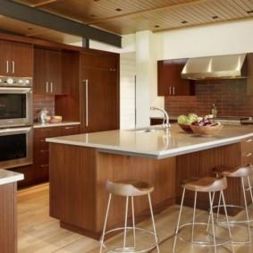 ламинат на кухне идеи декор